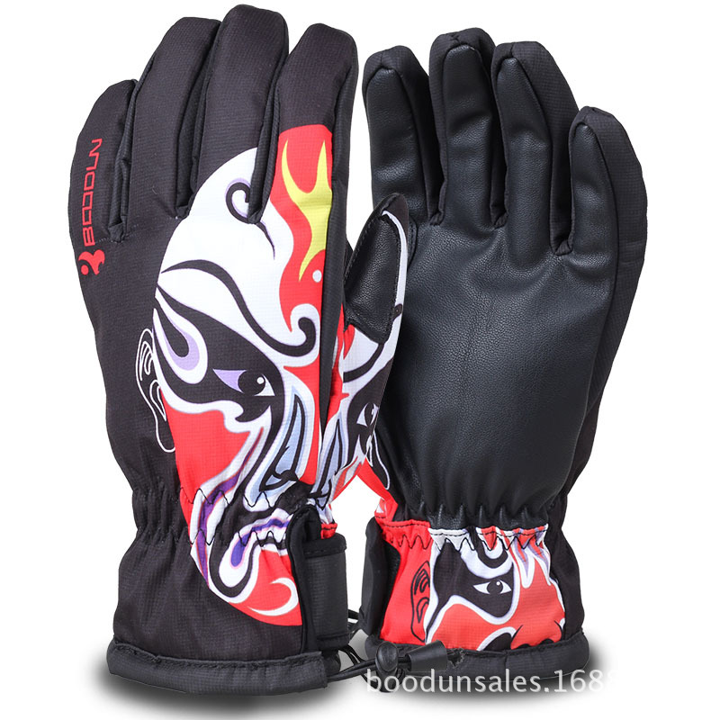 Guantes Ciclismo Snowboard Gloves Winter Outdoor Sports Running Gloves For Teens Men & Womens Driving Skiing Snowboarding Warm
