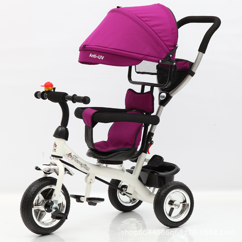2019 New Children's Tricycle Child's Bicycle Baby Cart Convertible Seat Three Wheels Baby Trolley Child Bicycle
