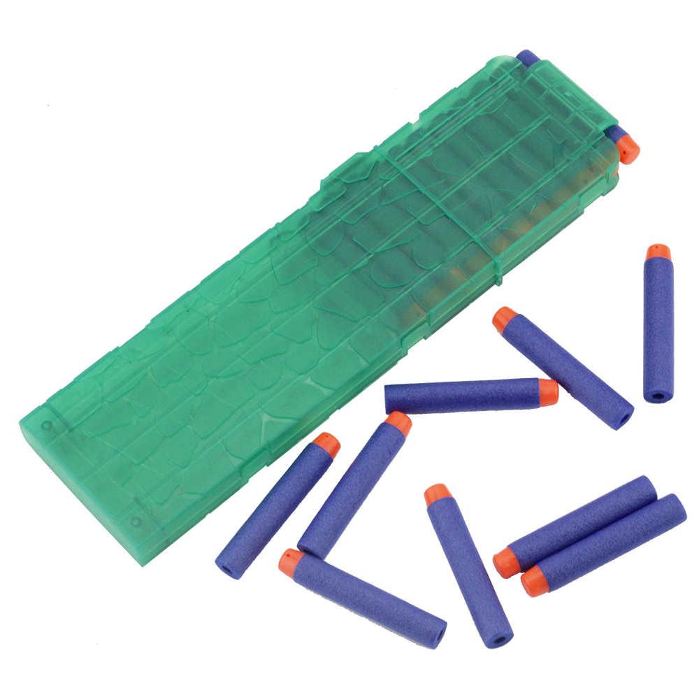 Viciviya 18 Reload Clip Voor Nerf Tijdschrift Ronde Darts Vervanging Speelgoed Pistool Zachte Kogel Clip Voor Nerf Blaster arma de brinquedo