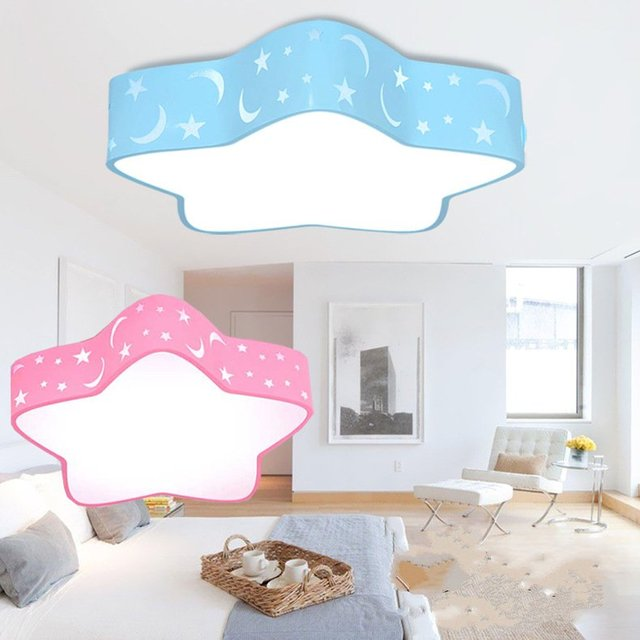 Kids Ceiling Lights Fixture Cartoon Lamps for Bedroom Boys Girls LED ...