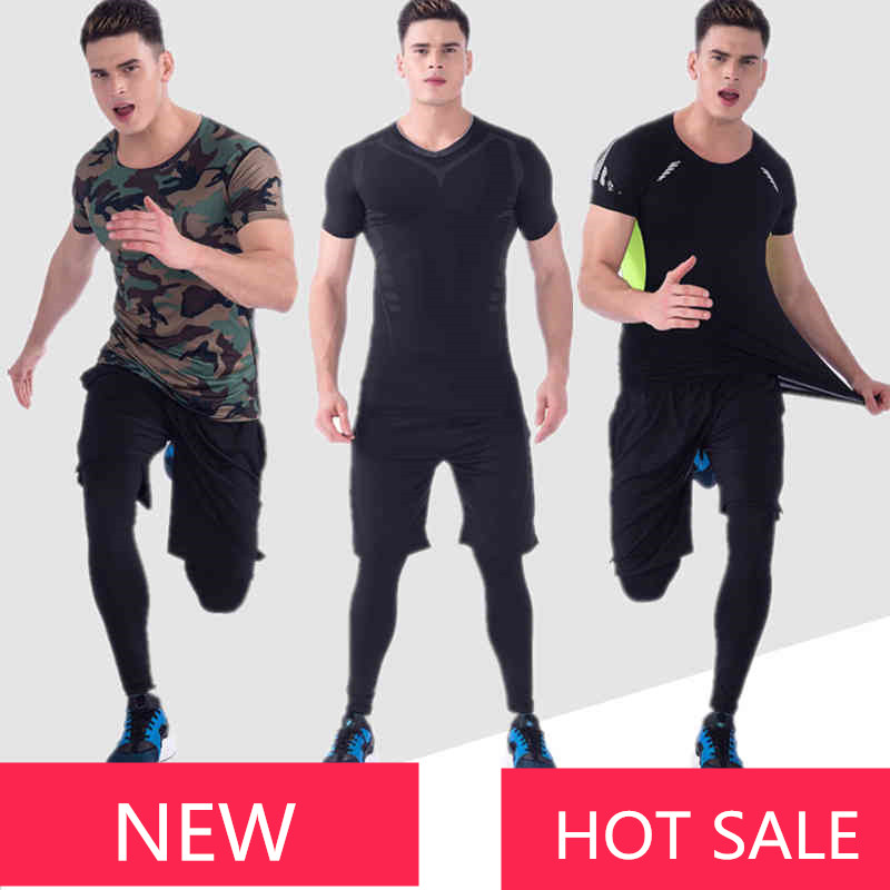 3 Piece Men Running Set Jogging Training Suits Sport Clothing Basketball Long Sleeve Gym Fitness Tights Track Suit Survetement women genuine leather sandals fashion pointed toe causal shoes buckle solid color black pink orange spring shoes square heel