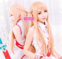 Sword art online Yuuki Asuna cosplay saç çünkü