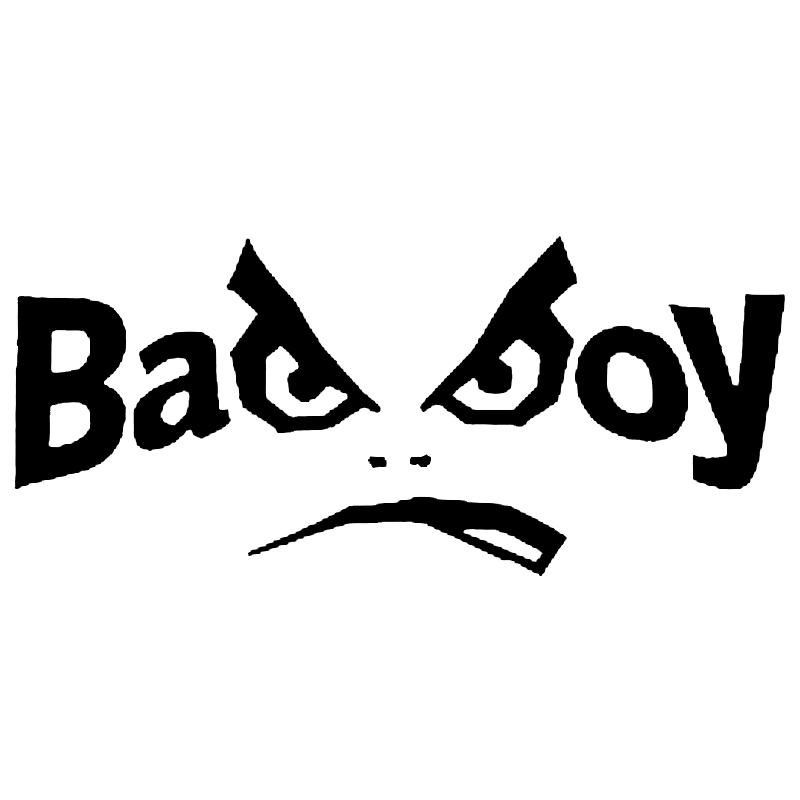 car stying bad boy vinyl decal sticker for window car