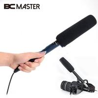 BCMaster Professional Condenser Microphone Stereo Conference Interview Mic For DSLR SLR Camera Camcorder Video DV DC