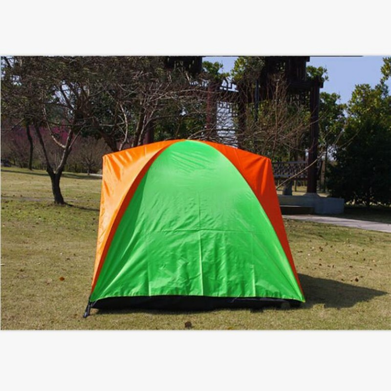 New Outdoor Tent Awning Beach Comfortable 2 Person Hunting Adventure Double Layer Family C&ing Tents Shelter Winter Fishing-in Tents from Sports ... & New Outdoor Tent Awning Beach Comfortable 2 Person Hunting ...