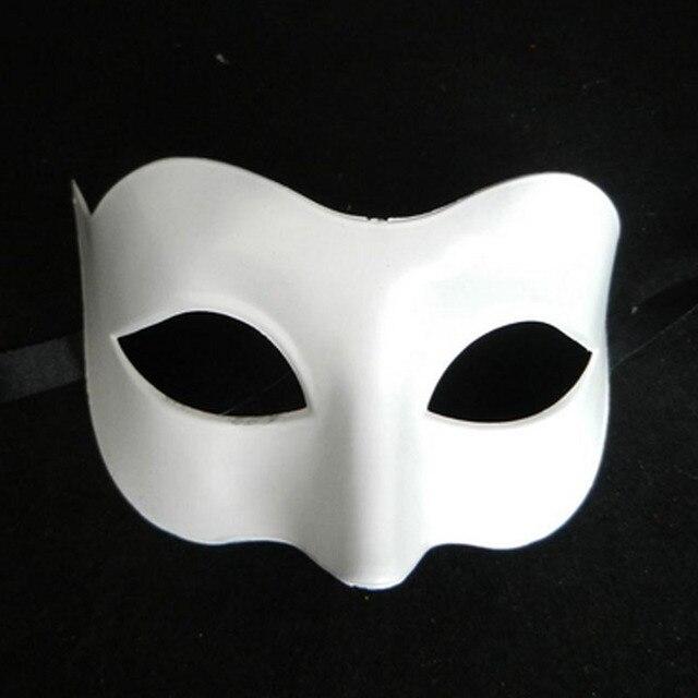 new 2017 black white men king prince children mask masquerade dancing party eye mask cat fancy - Black Eye Mask Halloween