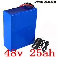 48 В 25AH Электрический велосипед батарея 48 В 2000 Вт батарея 48 В 25AH литиевая батарея Аккумулятор с 50A BMS + 54,6 В 5A зарядное устройство duty free