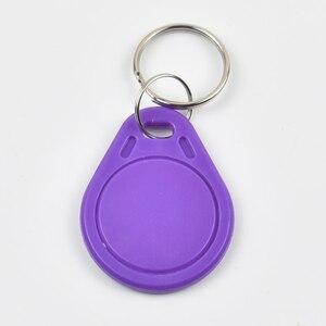 Image 4 - 10 Pcs/lot EM4305 Copy Rewritable Writable Rewrite EM ID keyfobs RFID Tag Key Ring Card 125KHZ Proximity Token Access Duplicate