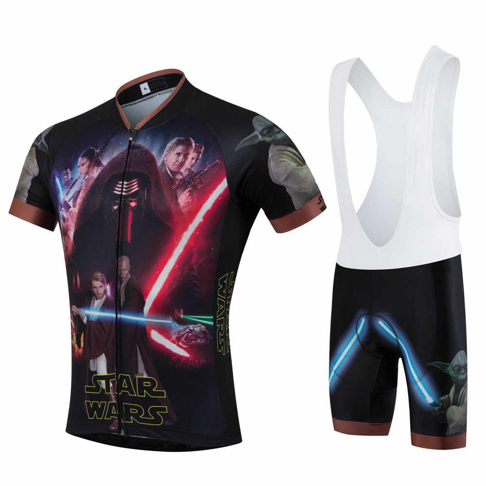 9dd427bfd ... New ZM star wars Cool pro team cycling jersey short ropa ciclismo quick  dry maillot mtb ...