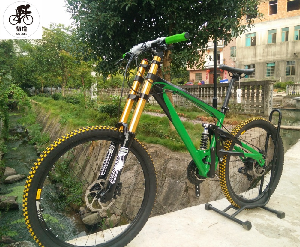 Kalosse full suspension mountain bike AM/FR 26*2.35 inch ...