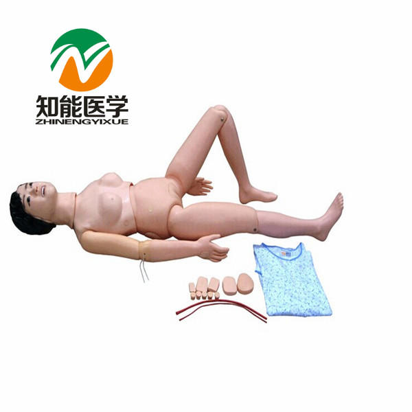 BIX-H1 New Type Of Multifunctional Nursing Manikin For Internship (Female) G075 bix h2400 advanced full function nursing training manikin with blood pressure measure w194