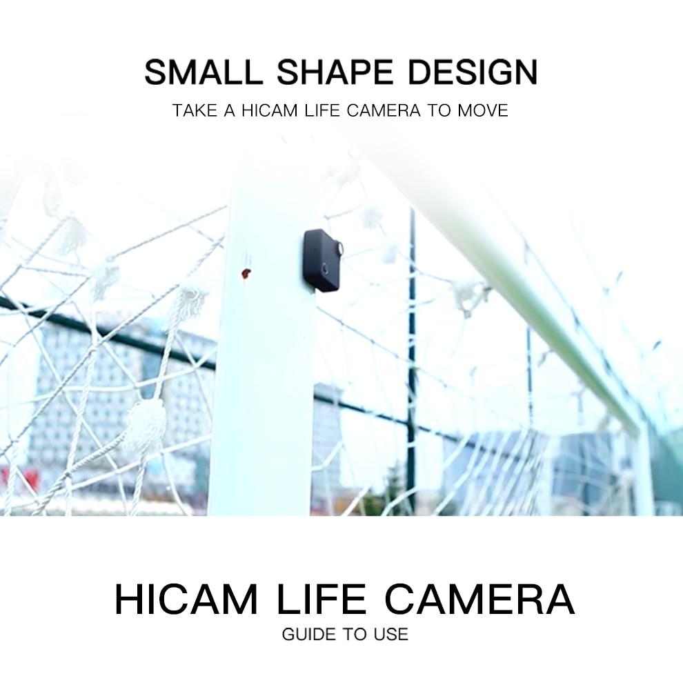 Volemer Wifi Mini Camera C1s P2P Full HD 1080P Infrared Night Version IP Cam Car DVRs Magnetic Clip Wireless Flexible Camera