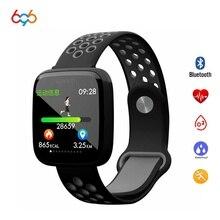 696 F15 Смарт-часы IP68 Водонепроницаемые плавательные умные часы сердечный ритм кровяное давление кислородный браслет для Android и IOS