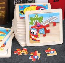 Animal Puzzle 3D Wooden 9 Piece Toy