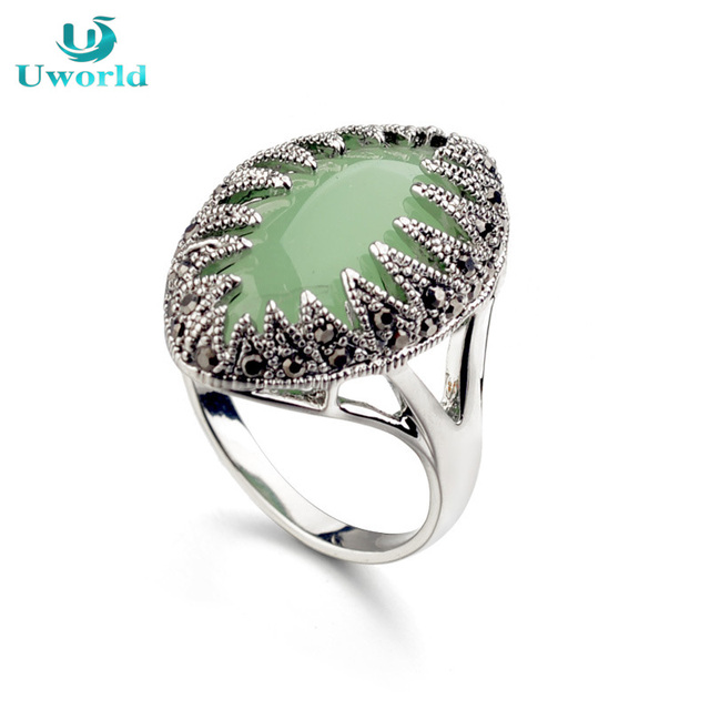 Beautiful Simple Vintage Ethnic Boho Ring For Women Hot Online Silver Plated Female Bague