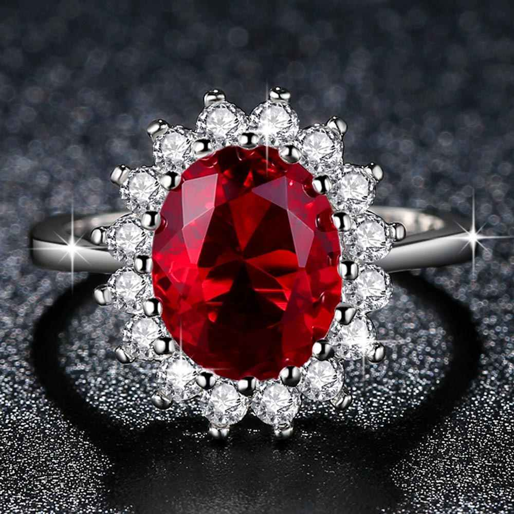 Beiver модные цветочные CZ свадебные кольца для женщин с родиевым покрытием 3 цвета AAA кубического циркония ювелирные изделия лучшие подарки для девочек