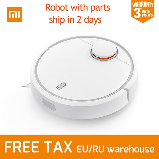 Versión internacional Original Xiaomi mi casa inteligente Tipo de Plan aspirador robótico con Wifi App y carga automática para la casa