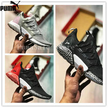 1ebb4c9e2e2 PUMA Hybrid Rocket Runner Shock Absorber Particles Women s Sneakers Sport  Shoes Cushioning Sole Badminton Shoes 36