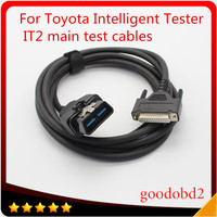 Diagnostic tool Car OBD2 16PIN Cable for Toyota Intelligent Tester IT2 Main Test cables for Suzuki OBD 2 16 pin connector port