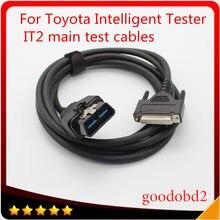 Cabo de diagnóstico do carro da ferramenta obd2 16pin para o verificador inteligente de toyota it2 cabos principais do teste para o porto do conector de suzuki OBD-2 16 pinos