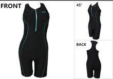 One Piece Women Swimwear 2017 Professional Black Plus Size Swimsuit Ladies Body Suit Sports Swimwear Maillot De Bain Femme