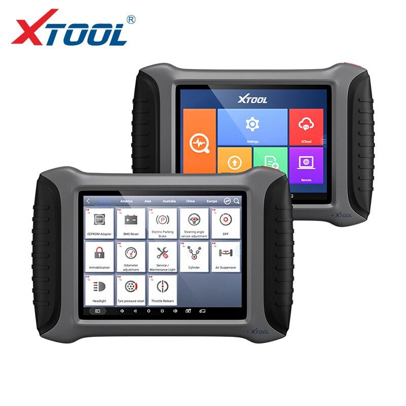 XTOOL A80 Com Bluetooth/WiFi Sistema Completa ferramenta de Diagnóstico Do Carro OBDII Do Carro Ferramenta de Reparo Do Carro Veículo Programação/Odômetro ajuste