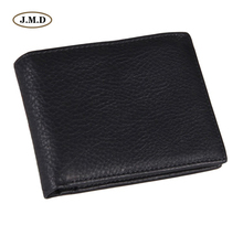J.M.D High Quality Genuine Cow Leather New Arrivals Fashion Style Design Men's Wallet Card Holder Short Purse 8054A/C  itoys 8054a f