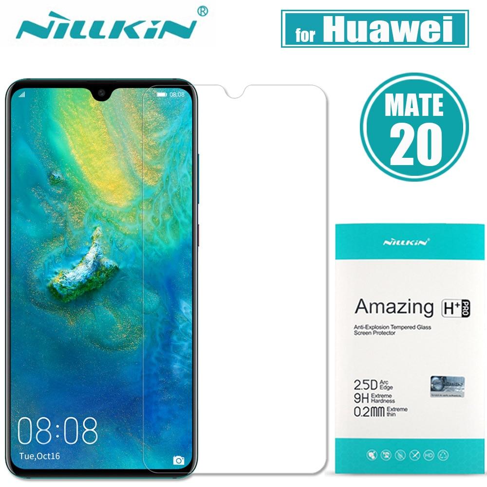 Nilkin per Huawei Compagno di 20 Temperato Protezione Dello Schermo di Vetro Nillkin 9 H Incredibile H + Pro Sereno Film di Vetro per huawei Compagno di 20 X