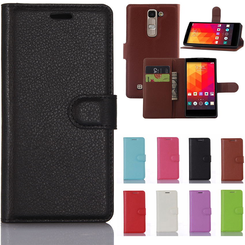 Leather Flip Case For LG G4C Wallet Card Holder Phone Case For LG Magna H502 H502F H500F LGG4C G4 C Mini H525N H522Y Back Cover image