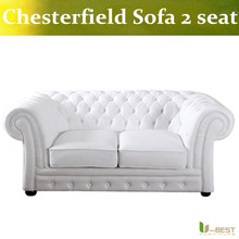 U BEST Simple European and American style new classic modern leather sofa Villa Hotel club furniture