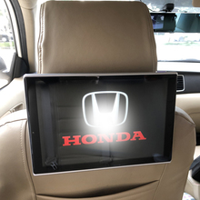 Car Pillow Headrest Monitor For Honda FIT CITY CIVIC Crosstour SPIRIOR With Games Music Moive Internet One Pair