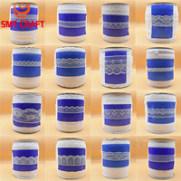 Wholesale Beautiful White Lace Ribbon Tape French African Lace Fabric Lace For Sewing Embroidered Clothing Accessories