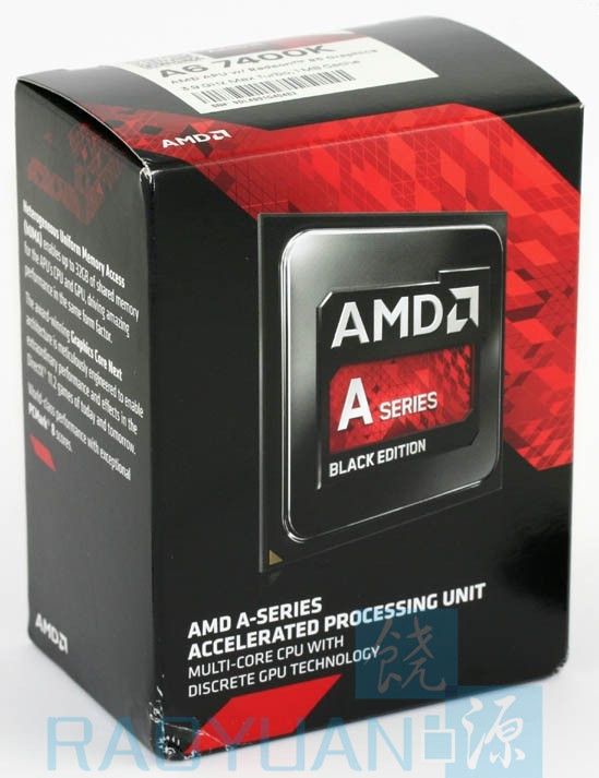 AMD Box A6-Series A6-7400K A6 7400 A6 7400K Dual Core 3.5G 65W AD740KYBI23JA Socket FM2+ With CPU Cooling Fan