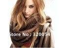Free shipping,1piece,Korean version,woman knit spun gold scarf, multi-purpose collar scarf, shawl, red, deep coffee, black.