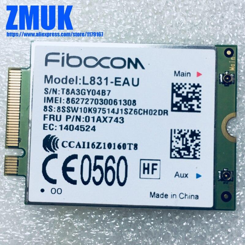 Brand New XMM7161 CAT4 M.2 WWAN L831-EAU For Lenovo Thinkpad X270 Series,FRU 01AX743 sierra mc7750 lte solution 4g wwan module for thinkpad t430 t430i series fru 04w3791