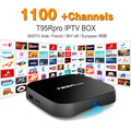 Europa Canales de IPTV Árabe Francés incluido Android 6.0 TV Box S912 T95RPRO Soporte Sport Canal Plus Francés Iptv Set Top caja