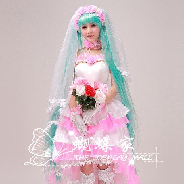 Animado mariposa casa la ropa t070 mujeres de vocaloid miku rosa ...