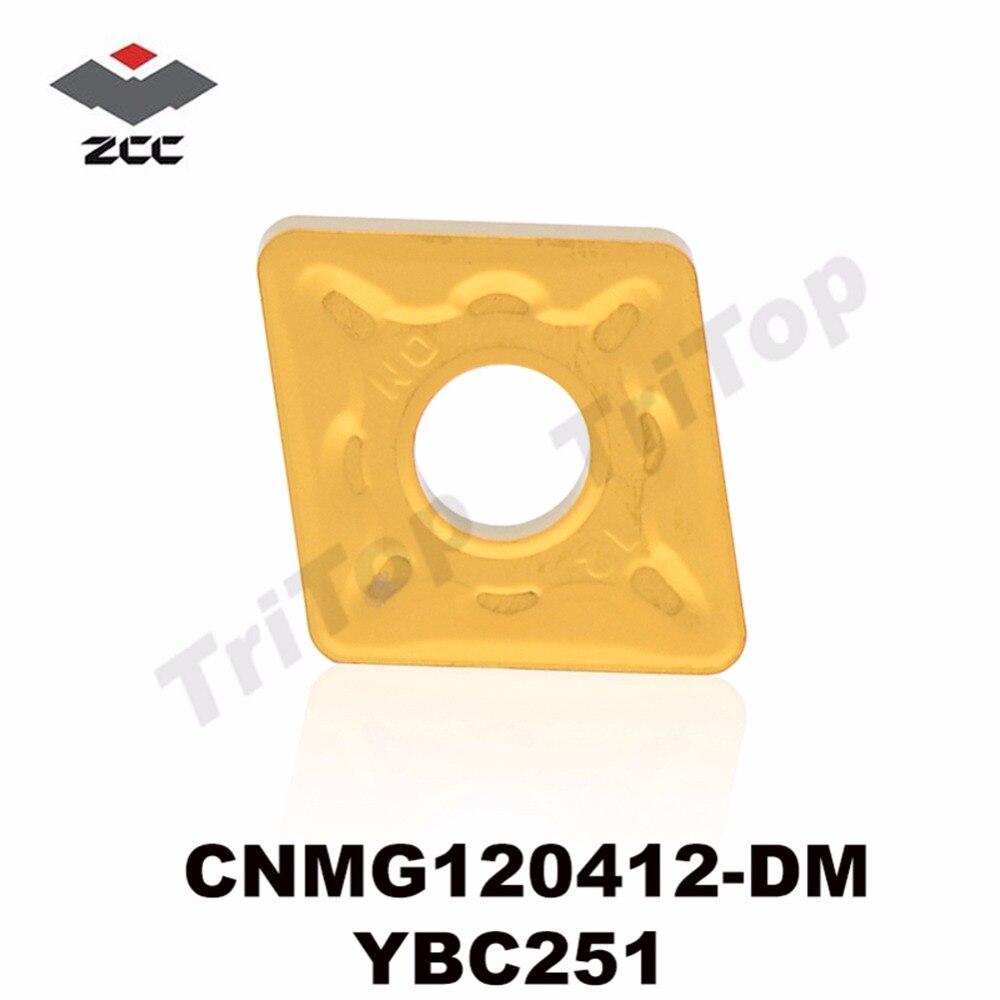 CNMG120412 DM YBC251 CNMG433 Indexable Carbide Turning Inserts Cutter for Holder MCLNR MCRNR MCKNR CNMG120412 DM