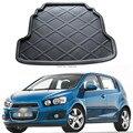 1 Шт. Автомобиль задний багажник, коврики для Chevrolet AVEO HATCHBACK 2011-2014