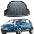 1 Peça tapetes boot traseira Do Carro para Chevrolet AVEO HATCHBACK 2011-2014