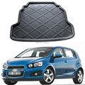 1 Piece Car rear boot mats for Chevrolet AVEO HATCHBACK 2011-2014