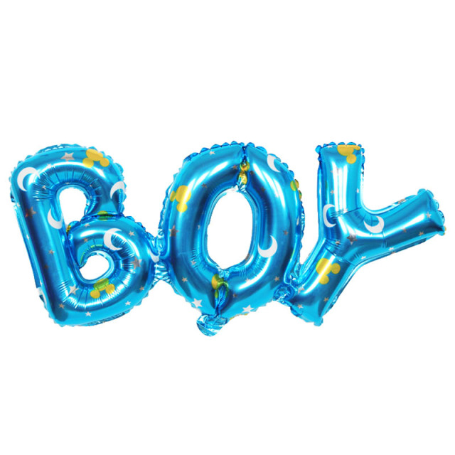 Boy and Girl Balloons children party decoration birthday party balloons inflatable Helium Balloon baby shower