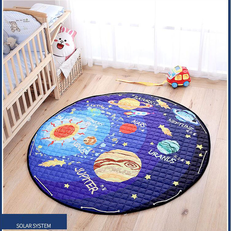 150x150CM Baby Carpet Cotton Baby Game Carpet Children Kid Toy Develop Road Rug For Bedroom Tapete Living Room Play Carpet Tapis