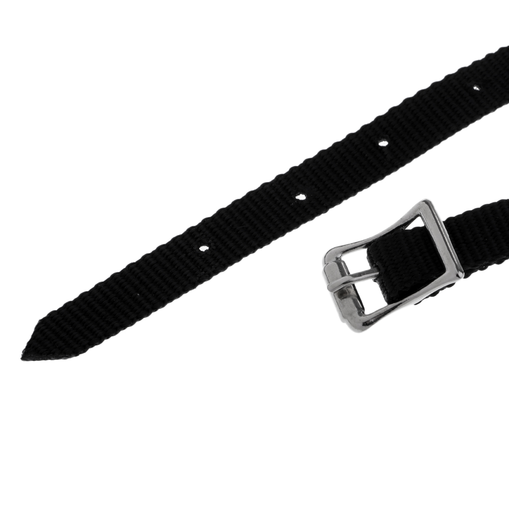 Weaved English Spurs Straps Horse Riding Equestrian Accessories