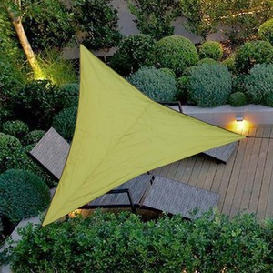 Image 2 - Triangle Sun Shelter Sunshade Protection Outdoor Canopy Garden Patio Pool Shade Sail Awning Camping Picnic Tent