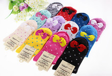 Warm comfortable cotton bamboo fiber girl women's socks ankle low female invisible  color girl boy hosiery  1pair=2pcs WS26