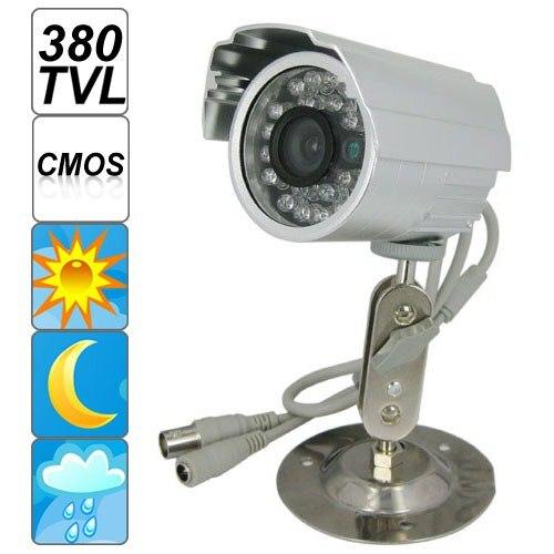 EPathchina 3,6mm Tragbare Mini 380TVL Wasserdicht Indoor Outdoor IR Überwachungskamera mit Cmos-bildsensor