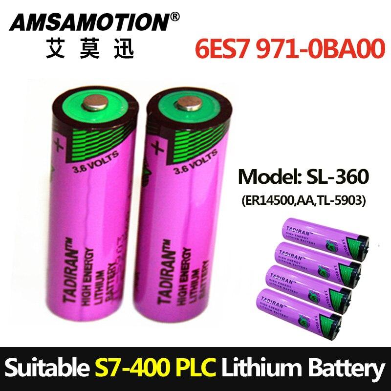 TADIRAN Batteria SL-360 Adatto S7-400 PLC 6ES7971-0BA00 Per Siemens PLC 3.6 V AA batteria Al Litio TL-5903 ER14500 14505TADIRAN Batteria SL-360 Adatto S7-400 PLC 6ES7971-0BA00 Per Siemens PLC 3.6 V AA batteria Al Litio TL-5903 ER14500 14505
