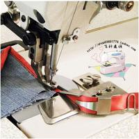 Industrial sewing machine binder edging machine sewing machine synchronous car plastic webbing leather puller