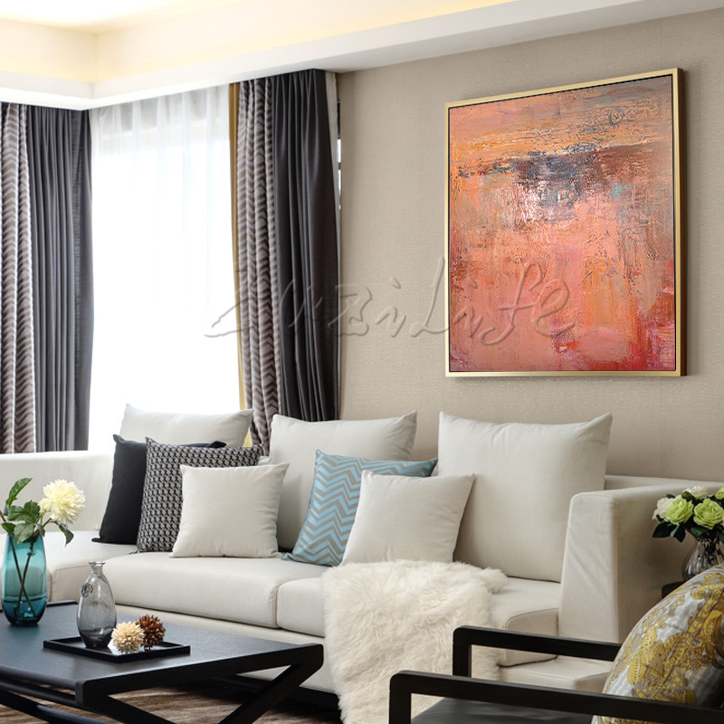 Wall Pictures For Living Room ,Hand Painted Canvas Oil